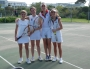 Girls tennis team in Sweden